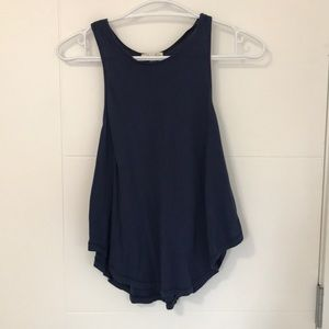 Wilfred Free Navy Blue Tank Top